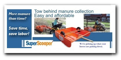 Super Scooper Pasture Manure Cleaner