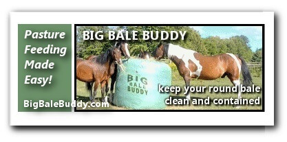 Big Bale Buddy Pasture Horse Feeders