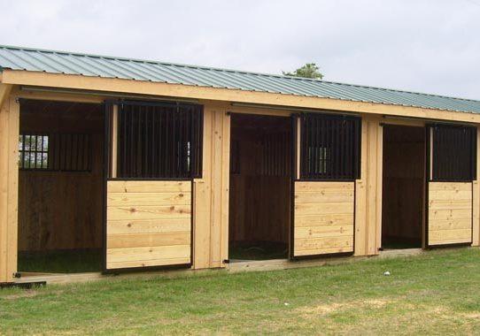 Deer Creek Structures Horse Barn