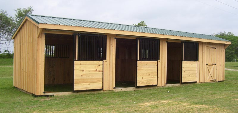 Deer Creek Structures Horse Barn