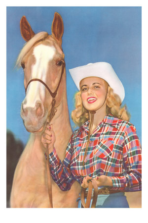 Cowgirl and Palomino