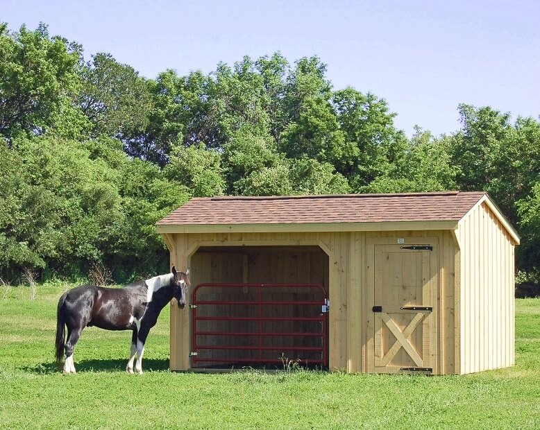 Deer Creek Structures Portable Horse Barns