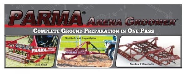 Parma's Arena Grooming Systems will Keep your Arena in Top Shape