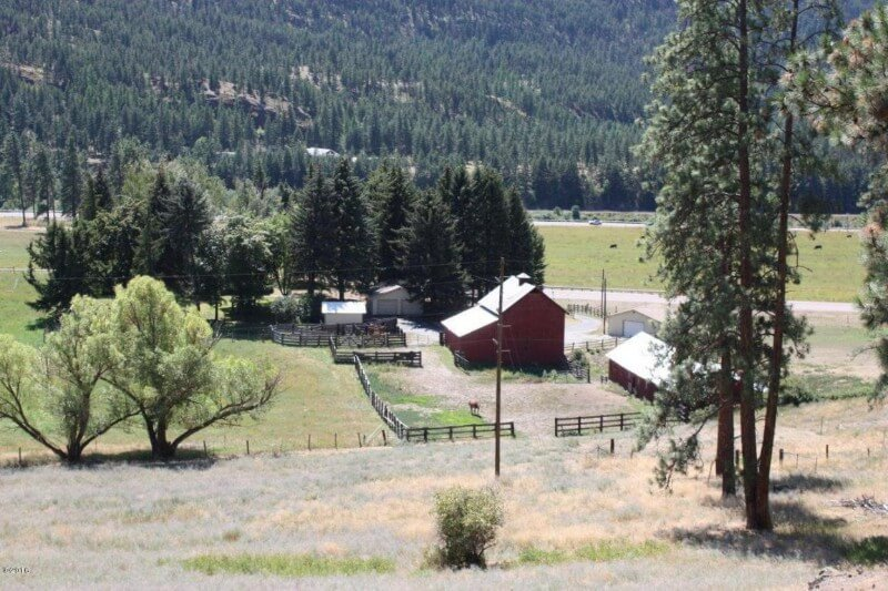 Updated Farm House on 648 +/- Western Montana Ranch Acres