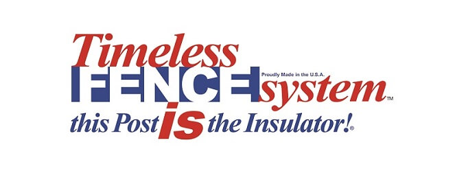 Timeless Fence System with UV protection and a Rigid PVC Core