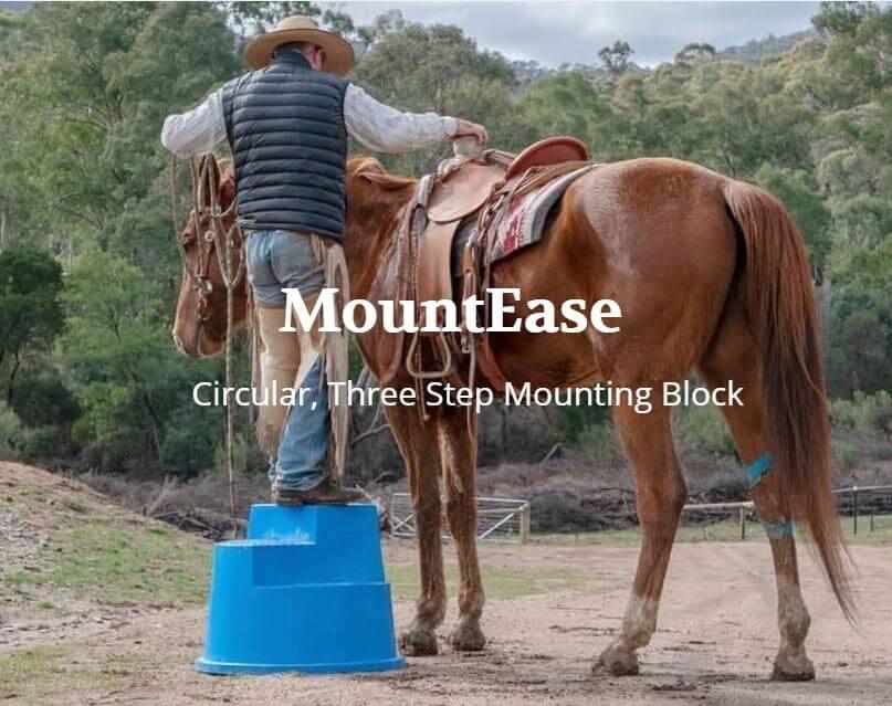 MountEase - Safe, 3 Step Mounting Blocks